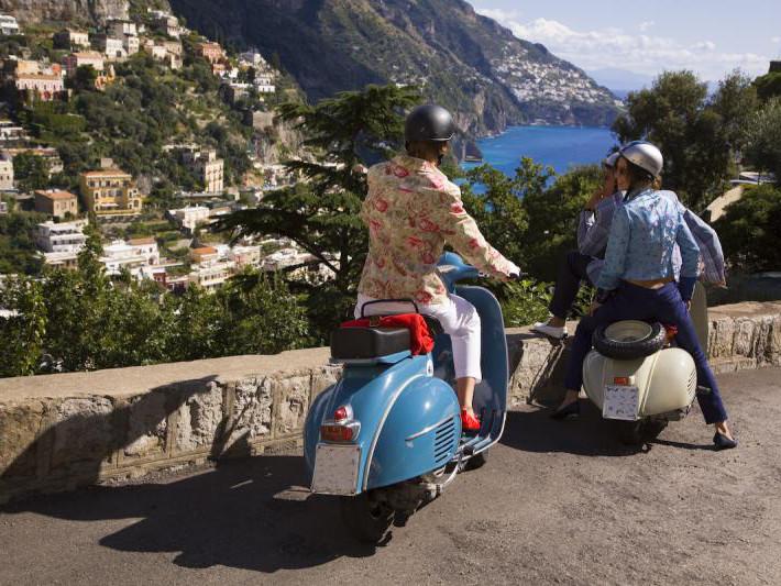 Amalfi Vespa Tour